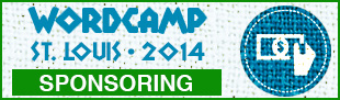 We're Sponsors for WordCamp St. Louis March 1st 2014